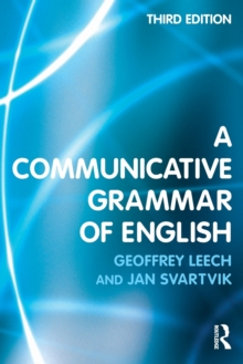 A Communicative Grammar of English, Paperback / softback Book