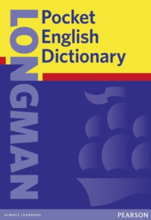 Longman Pocket English Dictionary Cased, Hardback Book