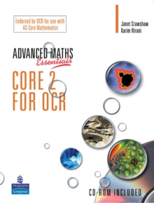 A Level Maths Essentials Core 2 for OCR Book and CD-ROM,  Book