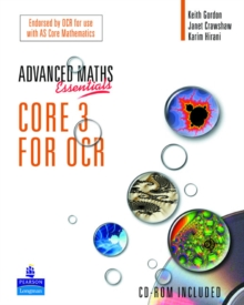 A Level Maths Essentials Core 3 for OCR Book and CD-ROM, Mixed media product Book