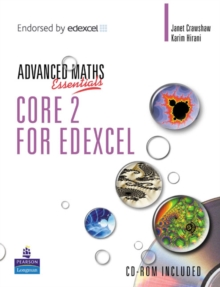 A Level Maths Essentials Core 2 for Edexcel Book and CD-ROM, Mixed media product Book