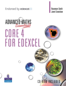 A Level Maths Essentials Core 4 for Edexcel Book and CD-ROM, Mixed media product Book