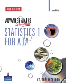 A Level Maths Essentials Statistics 1 for AQA Book and CD-ROM,  Book