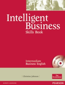 Intelligent Business Intermediate Skills Book and CD-ROM Pack, Mixed media product Book