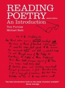 Reading Poetry : An Introduction, Paperback Book