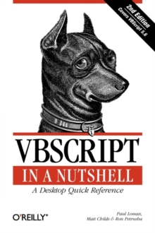 VBScript in a Nutshell : A Desktop Quick Reference, Paperback / softback Book