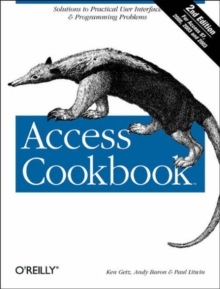 Access Cookbook, Paperback / softback Book