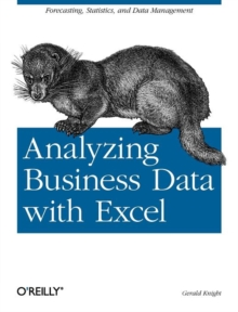 Analyzing Business Data with Excel, Paperback Book