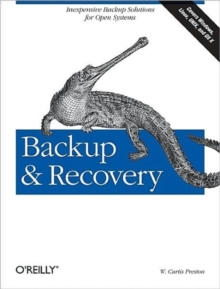 Backup and Recovery, Paperback Book