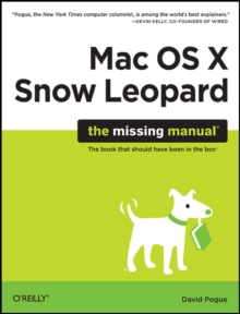 Mac OS X Snow Leopard: The Missing Manual, Paperback Book
