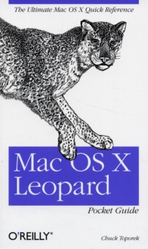 Mac OS X Leopard Pocket Guide, Paperback / softback Book