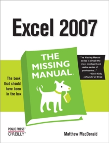 Excel 2007: The Missing Manual, EPUB eBook