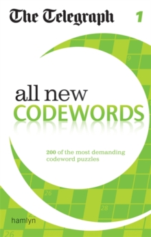 The Telegraph: All New Codewords 1, Paperback Book