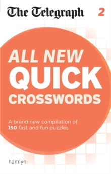 The Telegraph: All New Quick Crosswords 2, Paperback / softback Book