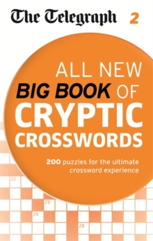 The Telegraph: All New Big Book of Cryptic Crosswords 2, Paperback Book