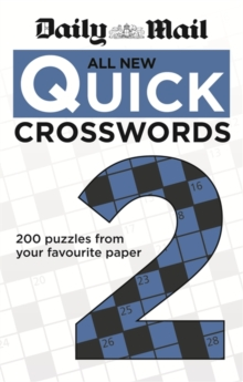 Daily Mail: All New Quick Crosswords 2, Paperback Book
