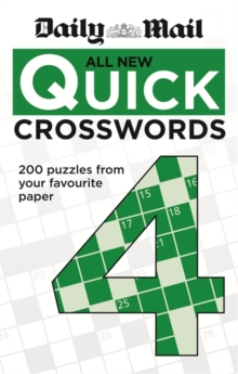 Daily Mail: All New Quick Crosswords 4, Paperback Book