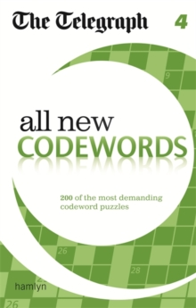 The Telegraph All New Codewords 4, Paperback Book