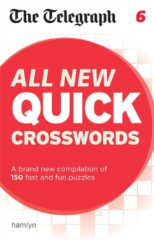 The Telegraph All New Quick Crosswords 6, Paperback Book