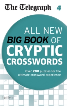 The Telegraph: All New Big Book of Cryptic Crosswords : 4, Paperback Book