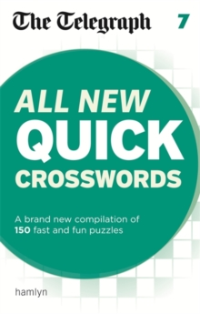 The Telegraph: All New Quick Crosswords 7, Paperback / softback Book