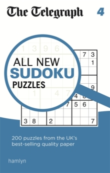 The Telegraph All New Sudoku Puzzles 4, Paperback Book