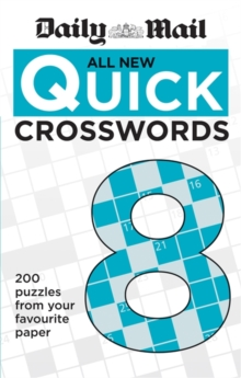 Daily Mail All New Quick Crosswords 8, Paperback / softback Book