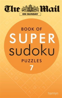 Book of Super Sudoku Puzzles 7, Paperback Book