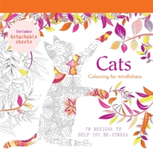 Cats : 70 Designs to Help You De-Stress, Paperback Book