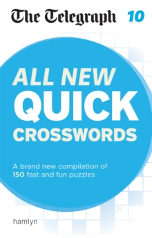 The Telegraph: All New Quick Crosswords 10, Paperback / softback Book