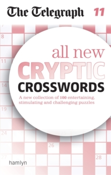 The Telegraph: All New Cryptic Crosswords 11, Paperback / softback Book