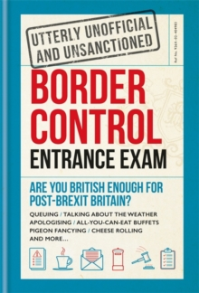 Border Control Entrance Exam, Hardback Book
