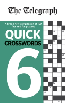 The Telegraph Quick Crosswords 6, Paperback / softback Book