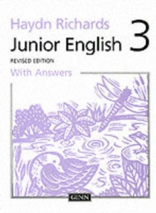Haydn Richards : Junior English :Pupil Book 3 With Answers -1997 Edition, Paperback Book