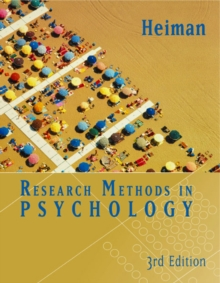 Research Methods in Psychology, Hardback Book