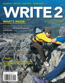 WRITE2 (with CourseMate Printed Access Card), Mixed media product Book