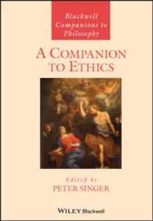 A Companion to Ethics, Paperback Book