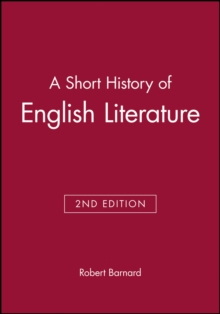 A Short History of English Literature, Paperback Book