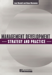Management Development : Strategy and Practice, Paperback Book