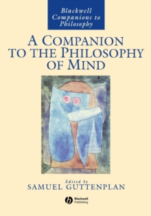 A Companion to the Philosophy of Mind, Paperback Book