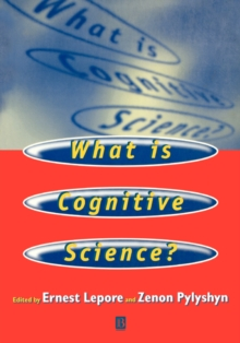 What is Cognitive Science?, Paperback / softback Book