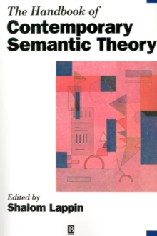 The Handbook of Contemporary Semantic Theory, Paperback Book