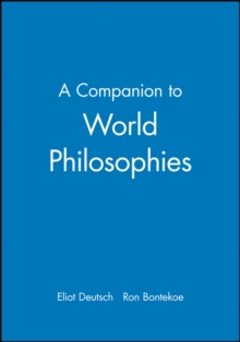 A Companion to World Philosophies, Paperback / softback Book