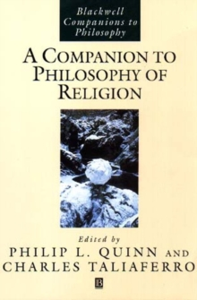 A Companion to the Philosophy of Religion, Paperback Book