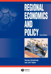 Regional Economics and Policy, Paperback Book