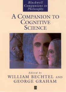 A Companion to Cognitive Science, Paperback Book
