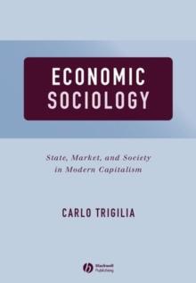 Economic Sociology : State, Market, and Society in Modern Capitalism, Paperback / softback Book