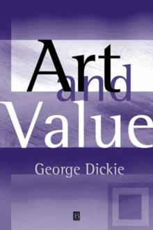 Art and Value, Paperback / softback Book