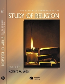 The Blackwell Companion to the Study of Religion, Hardback Book