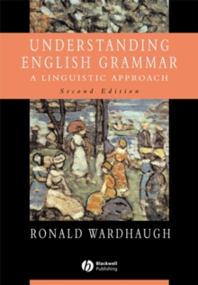 "Understanding English Grammar : Understanding English Grammar Instructor's Manual to Accompany ""Understanding English Grammar"", Paperback / softback Book"